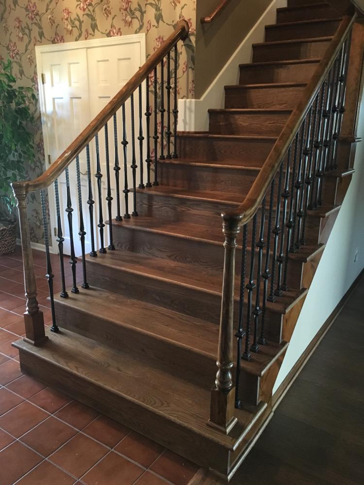 Hardwood-Staircase-Installation